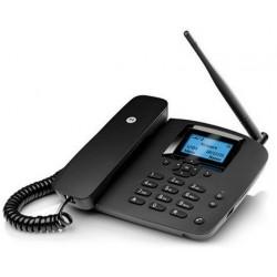 Teléfono Fijo Motorola FW200L Negro GSM con SIM