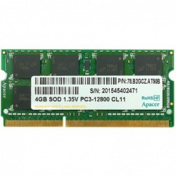 MEMORIA SODIMM 4GB APACER...