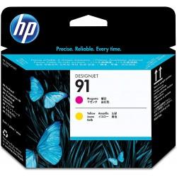 Cabezal de Impresión HP 91 Magenta/Amarillo C9461A