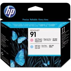 Cabezal de Impresión HP 91 Magenta Claro/Cian Claro C9462A