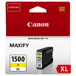 Tinta Canon 1500XL Amarillo 9195B001