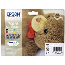 Tinta Epson T0615 Pack de los 4 Colores