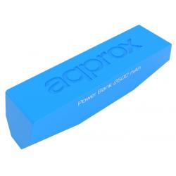 Batería Powerbank 2600 mAh Approx Pocket Universal Azul