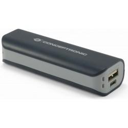Batería Powerbank 2200 mAh Conceptronic CPOWERBK2200