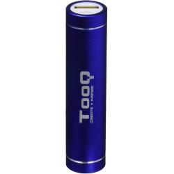 Batería Powerbank 2600 mAh Tooq Azul