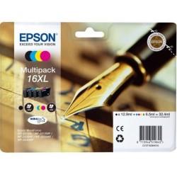 Tinta Epson 16XL Pack de los 4 Colores T1636 RF