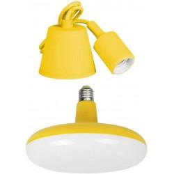 Lámpara Led Colgante EDM E27 24W Amarillo