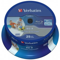 VERBATIM BD-R SL DATALIFE,...