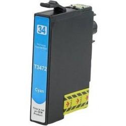 Tinta Compatible Epson 34XL Cian T3472