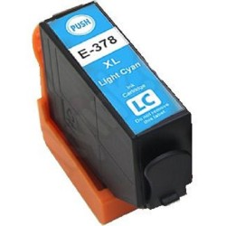 Tinta Compatible Epson 378XL Cian Claro T3795
