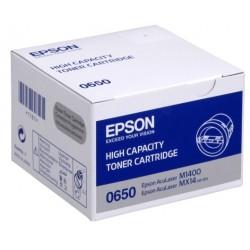 Tóner Epson C13S050650 Negro