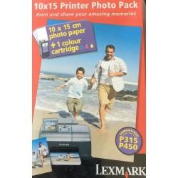 Tinta Lexmark P315 + 70 Hojas Foto Bonus