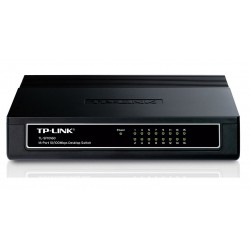 Switch 16 Puertos 10/100 Tp-Link TL-SF1016D