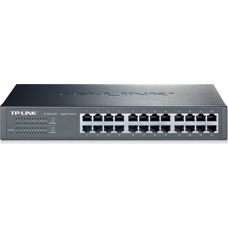 Switch 24 Puertos Gigabit Tp-Link TL-SG1024D