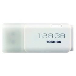 Pendrive de 128GB Toshiba U202 Blanco