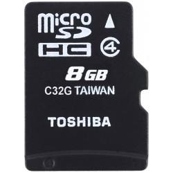 Tarjeta MicroSD 8GB Toshiba M102