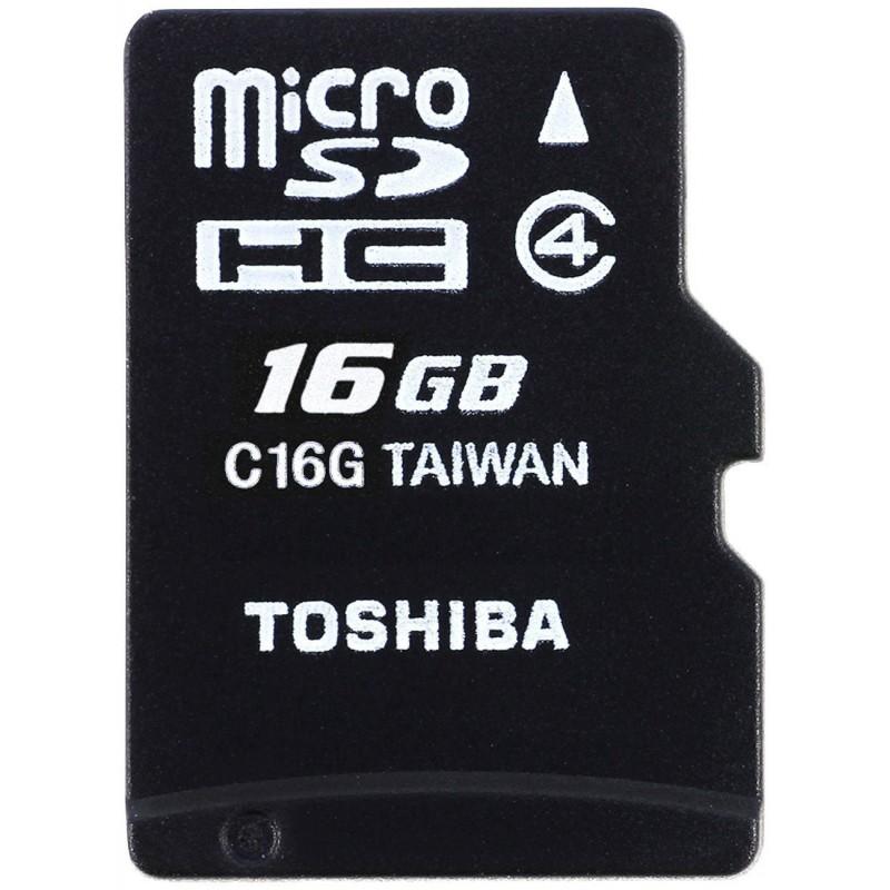 Tarjeta MicroSD 16GB Toshiba M102