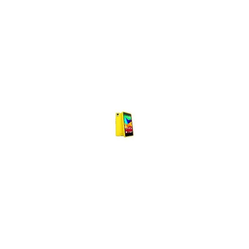 Bq Funda Gummie Cover Aquaris E5 4G Lte Amarillo