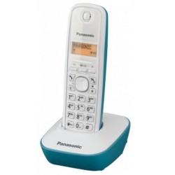 Teléfono Inalámbrico Panasonic KX-TG1611 Blanco/Azul
