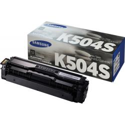Tóner Samsung CLT-K504S Negro