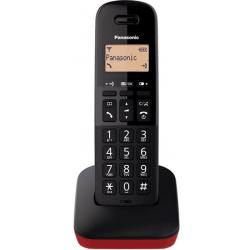Teléfono Inalámbrico Panasonic KX-TGB610 Negro/Rojo