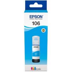 Tinta Epson 106 Cian C13T00R240