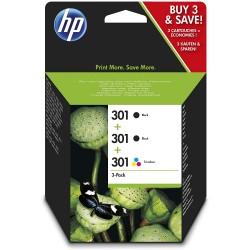 Tinta HP 301 2X Negro...