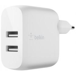 Cargador USB Belkin BoostCharge 24W Doble