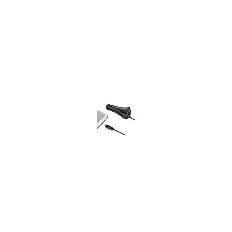 Celly Cargador De Coche Micro Usb Negro 2A