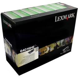 Tóner Lexmark 64016HE Negro