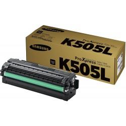 Tóner Samsung CLT-K505L Negro