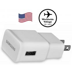Cargador USB de Viaje Samsung USA 1.0 Amp