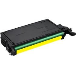 Tóner Compatible Samsung CLP-Y660B Amarillo