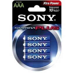 Sony AAA battery 4 Units
