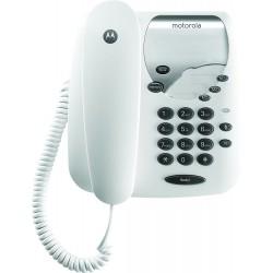 Teléfono Fijo Motorola MOT30CT1B Blanco