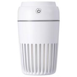 Humidificador de Aire Platinet USB 300ml Blanco con Led de Noche en 7 Colores