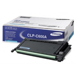 Tóner Samsung CLP-C600A Cian
