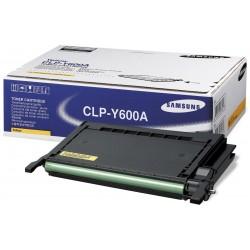 Tóner Samsung CLP-Y600A Amarillo
