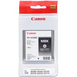 Tinta Canon 102 Negro Mate PFI-102MBK