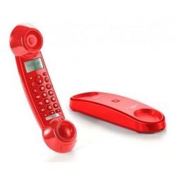 Teléfono Inalámbrico Sagemcom Sixty Go Rojo