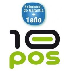 Ampliación de Garantía 10Pos RP-10N 1 año