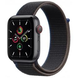 Apple Watch SE GPS + Cellular 44mm Aluminio en Gris Espacial con Correa Loop Deportiva Carbón