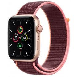 Apple Watch SE GPS + Cellular 44mm Aluminio en Oro con Correa Correa Loop Deportiva Ciruela