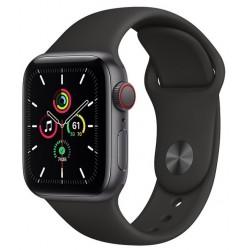 Apple Watch SE GPS + Cellular 40mm Aluminio en Gris Espacial con Correa Deportiva Negra