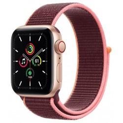 Apple Watch SE GPS + Cellular 40mm Aluminio en Oro con Correa Loop Deportiva Ciruela