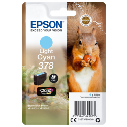 EPSON CARTUCHO T3785 CIAN...