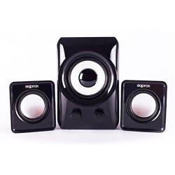 Altavoces 2.1 Approx APPSP21M USB Negro