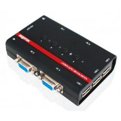Kvm de 4 Puertos USB/VGA Approx
