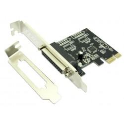 Tarjeta PCIe 1 Puerto Paralelo Approx