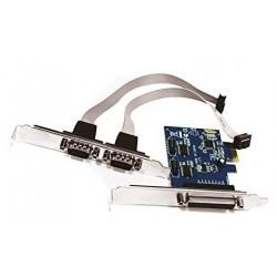 Tarjeta PCIe 1 Paralelo y 2...